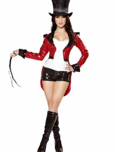 Women's Radiant Ringmaster Costume, halloween costume (Women's Radiant Ringmaster Costume)