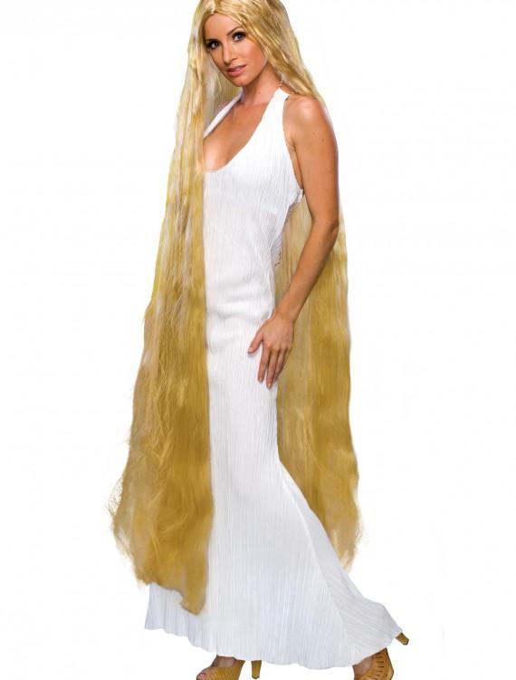 Womens Rapunzel Wig, halloween costume (Womens Rapunzel Wig)