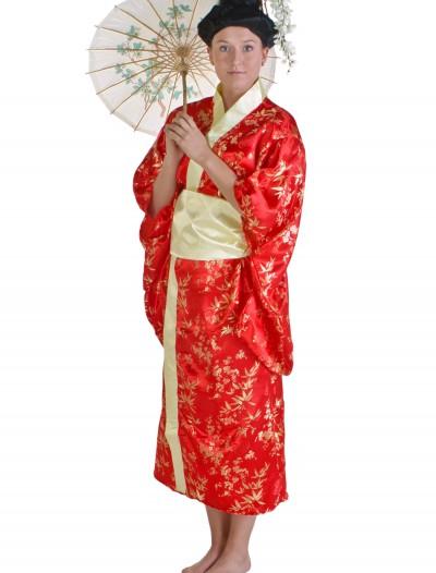 Womens Red Kimono, halloween costume (Womens Red Kimono)