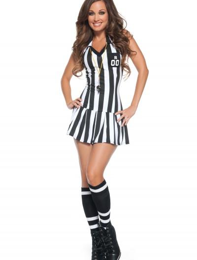 Womens Referee Costume, halloween costume (Womens Referee Costume)
