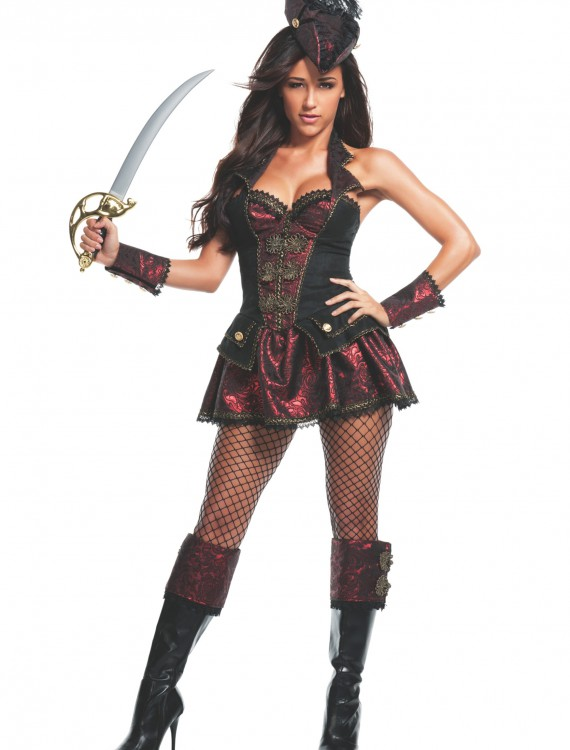 Women's Renegade Pirate Costume, halloween costume (Women's Renegade Pirate Costume)