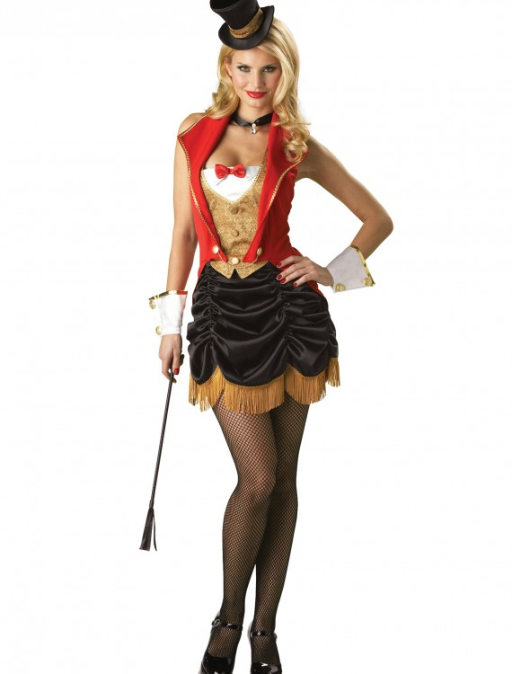 Womens Ring Master Costume, halloween costume (Womens Ring Master Costume)