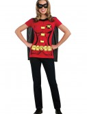 Womens Robin T-Shirt Costume, halloween costume (Womens Robin T-Shirt Costume)