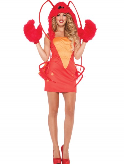 Womens Rock Lobster Costume, halloween costume (Womens Rock Lobster Costume)