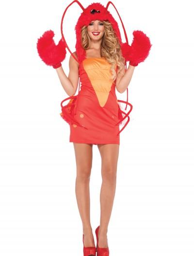 Womens Rock Lobster Costume, halloween costume (Womens Rock Lobster Costume)