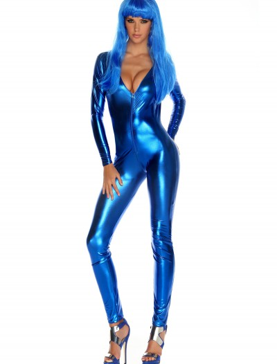 Womens Royal Blue Jumpsuit, halloween costume (Womens Royal Blue Jumpsuit)