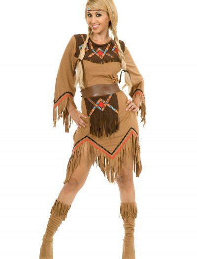 Women's Sacajawea Indian Maiden Costume, halloween costume (Women's Sacajawea Indian Maiden Costume)