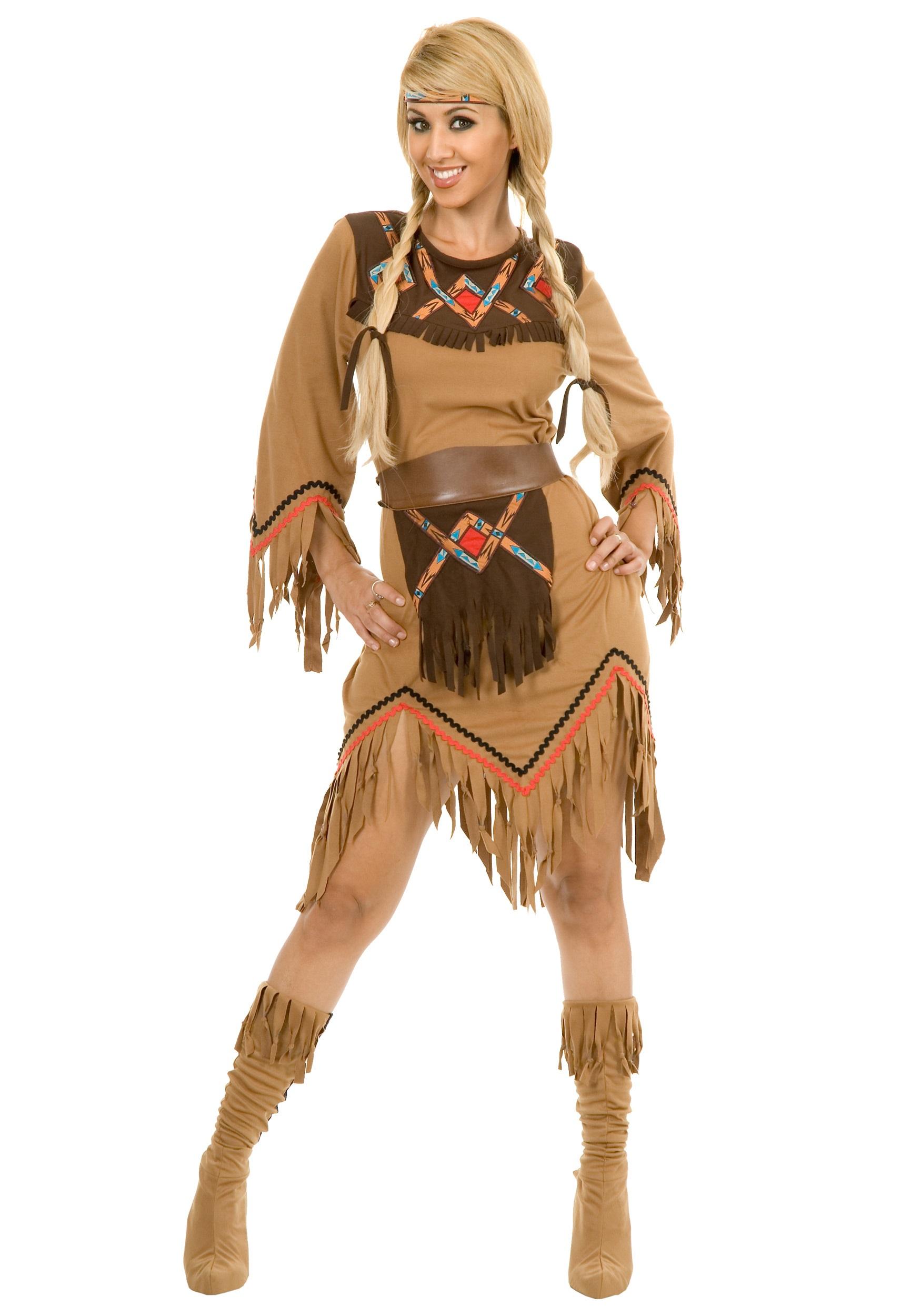 Костюмы индейцев-девушек своими руками