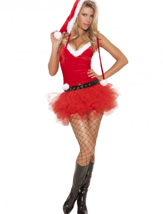 Women's Santa Sweetie Costume, halloween costume (Women's Santa Sweetie Costume)