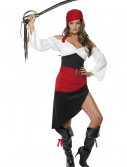 Womens Sassy Pirate Costume, halloween costume (Womens Sassy Pirate Costume)