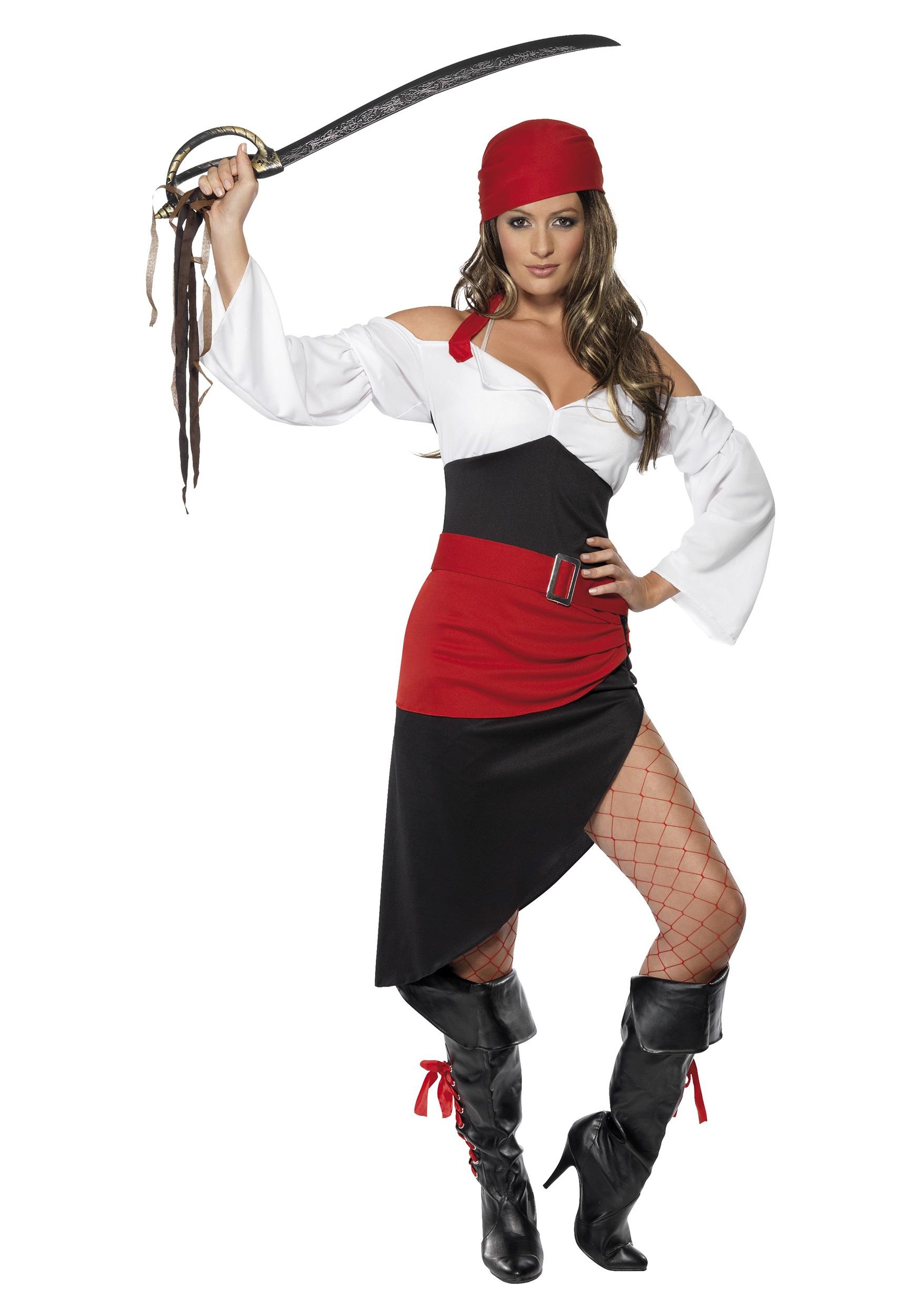 Как сделать костюм пиратки в домашних условиях для девочек