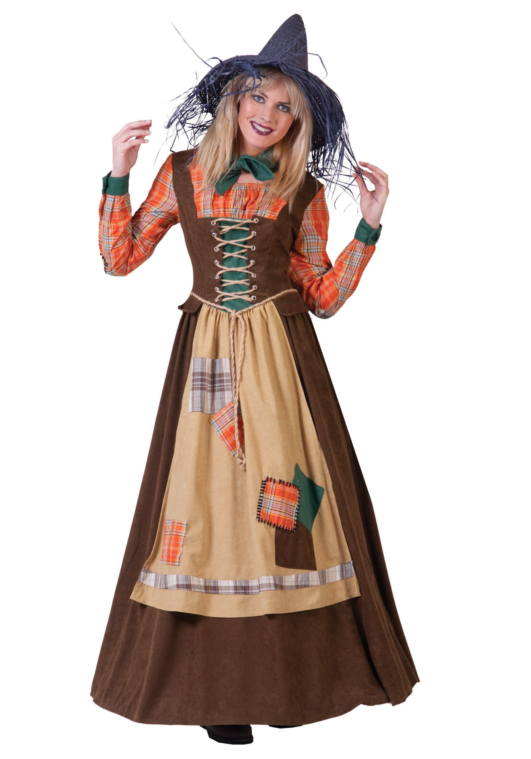 women's scarecrow costume - halloween costumes