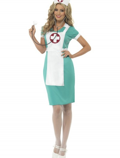 Womens Scrub Nurse Costume, halloween costume (Womens Scrub Nurse Costume)