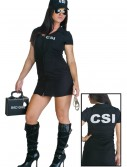 Women's Sexy CSI Costume, halloween costume (Women's Sexy CSI Costume)