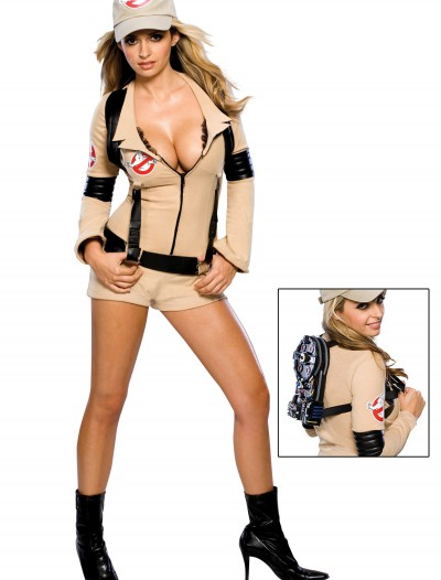 Women's Sexy Ghostbuster Costume, halloween costume (Women's Sexy Ghostbuster Costume)