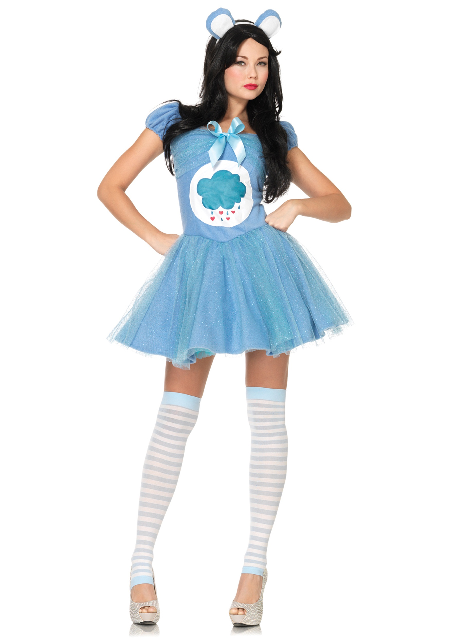 Adult Care Bears Grumpy Bear Costume  sc 1 st  Halloween Costumes : care bears costumes  - Germanpascual.Com