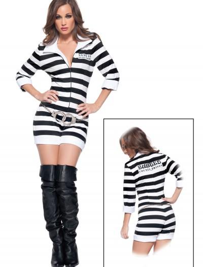 Womens Sexy Jailbird Costume, halloween costume (Womens Sexy Jailbird Costume)