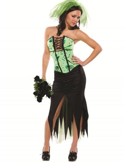 Womens Sexy Monster Bride Costume, halloween costume (Womens Sexy Monster Bride Costume)