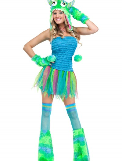 Womens Sexy Sea Monster Costume, halloween costume (Womens Sexy Sea Monster Costume)