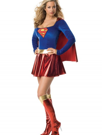 Women's Sexy Supergirl Costume, halloween costume (Women's Sexy Supergirl Costume)
