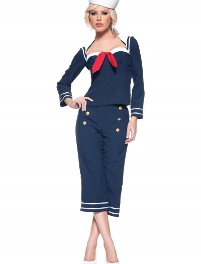 Womens Ship Mate Costume, halloween costume (Womens Ship Mate Costume)
