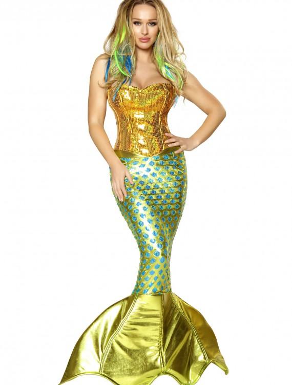 Womens Siren of the Sea Costume, halloween costume (Womens Siren of the Sea Costume)