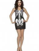 Womens Skeleton Dress, halloween costume (Womens Skeleton Dress)
