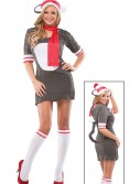 Women's Sock Monkey Costume, halloween costume (Women's Sock Monkey Costume)