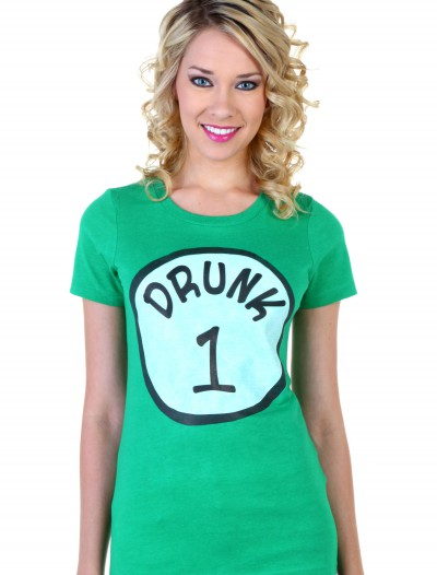 Womens St. Patricks Day Drunk 1 T-Shirt, halloween costume (Womens St. Patricks Day Drunk 1 T-Shirt)