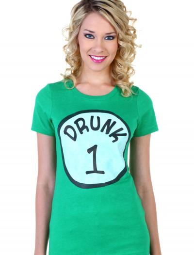 Womens St. Patricks Day Drunk 1 T-Shirt, halloween costume (Womens St. Patricks Day Drunk 1 T-Shirt)
