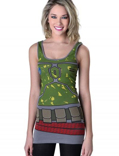Women's Star Wars Boba Tunic Tank, halloween costume (Women's Star Wars Boba Tunic Tank)