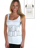 Womens Stormtrooper Tank Top, halloween costume (Womens Stormtrooper Tank Top)