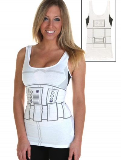 Womens Stormtrooper Tank Top, halloween costume (Womens Stormtrooper Tank Top)