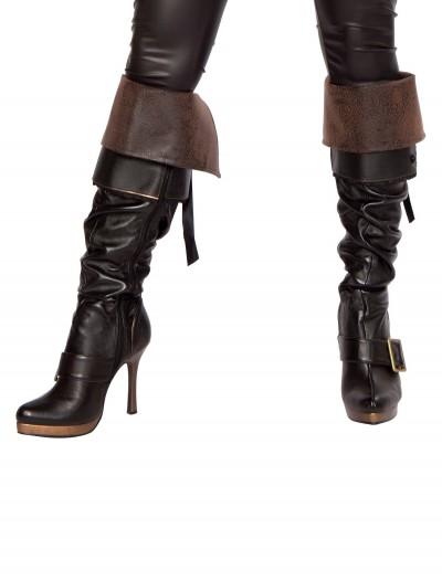 Women's Swashbuckler Boot Covers, halloween costume (Women's Swashbuckler Boot Covers)