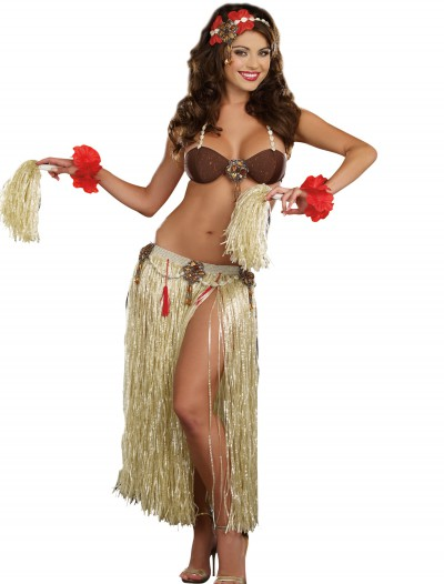 Womens Tahiti Sweetie Costume, halloween costume (Womens Tahiti Sweetie Costume)