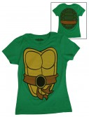 Womens TMNT Costume T-Shirt, halloween costume (Womens TMNT Costume T-Shirt)
