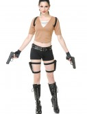 Women's Tomb Fighter Costume, halloween costume (Women's Tomb Fighter Costume)