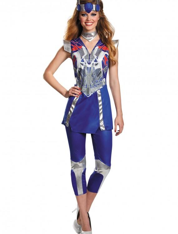 Womens Transformers 4 Optimus Prime Costume, halloween costume (Womens Transformers 4 Optimus Prime Costume)