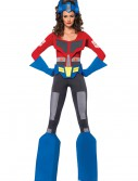 Womens Transformers Optimus Prime Costume, halloween costume (Womens Transformers Optimus Prime Costume)