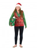 Womens Ugly Christmas Sweater Vest, halloween costume (Womens Ugly Christmas Sweater Vest)