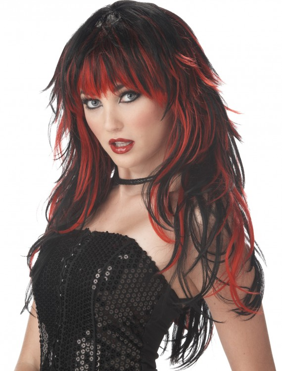Women's Vampire Wig, halloween costume (Women's Vampire Wig)