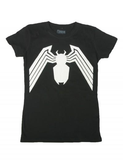 Womens Venom Costume T-Shirt, halloween costume (Womens Venom Costume T-Shirt)