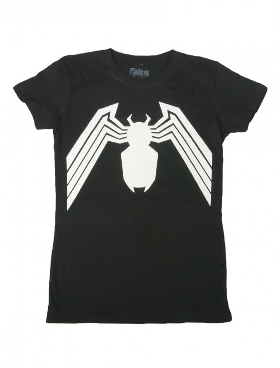 Womens Venom Costume T-Shirt, halloween costume (Womens Venom Costume T-Shirt)
