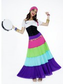 Women's Vibrant Gypsy Costume, halloween costume (Women's Vibrant Gypsy Costume)