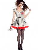 Womens Voodoo Doll Costume, halloween costume (Womens Voodoo Doll Costume)