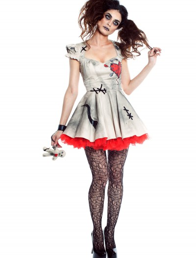 Womens Voodoo Doll Costume, halloween costume (Womens Voodoo Doll Costume)