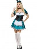 Women's Whimsical Mad Hatter Costume, halloween costume (Women's Whimsical Mad Hatter Costume)