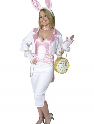 Womens White Rabbit Costume, halloween costume (Womens White Rabbit Costume)
