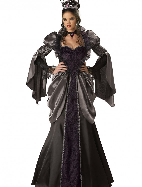 Womens Wicked Queen Costume, halloween costume (Womens Wicked Queen Costume)