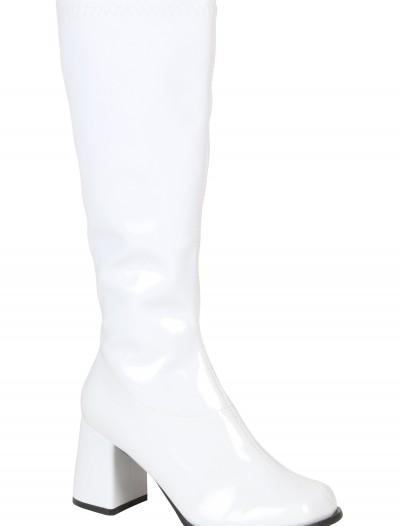 Womens Wide Calf Disco Boots, halloween costume (Womens Wide Calf Disco Boots)